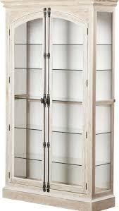 lighted curio cabinet oak carressa lighted curio cabinet reviews joss main