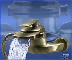 Badewanne Einhebelmischer Wasserfall Badewanne Einhebelmischer Messing Gebürstet Js Trading