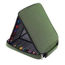 portable colors pencil drawing 80 slots case holder bag for 80pcs