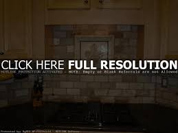 kitchen room dark color kitchen travertine tile backsplash