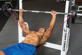 bench press with chains training bench decoration