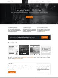 Free Template Html by 40 New And Responsive Free Html Website Templates