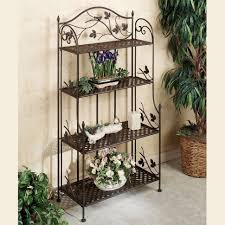 Wooden Patio Plant Stands by Plant Stand Plant Stands Outdoor Shocking Photos Inspirations