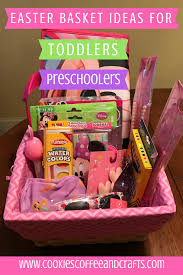 easter gift baskets for toddlers 41 easter basket ideas for toddlers and preschoolers cookies