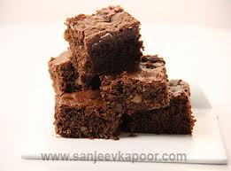 brownie no egg vegetarian recipe foodfood sanjeev kapoor