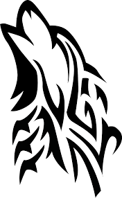 image howling wolf vector by souklin d83ulgq png jam