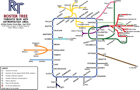 Bluebird Map Blue Jays Roster Tree Route Map U2014the 40 Man Roster Infographic