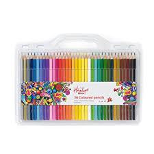 buy pencil buy hamleys 36 coloured pencils multi color at low prices