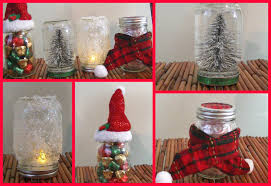 Small Decorated Christmas Tree Gift by 4 Diy Holiday Mason Jar Room Decorations Gift Ideas Youtube