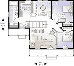 cottage style house plan 2 beds 1 00 baths 946 sq ft plan 23 526