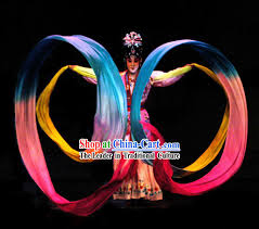 ribbon dancer 473 inches silk ribbon prop