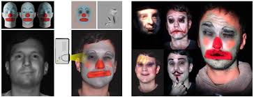 makeup lamps live augmentation of human faces via projection