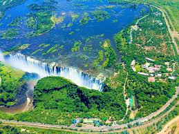 seven natural wonders of the world flying over victoria falls