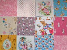 rabbit material rabbit fabric rabbit designs beatrix potter