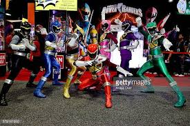 power rangers dino charge stock photos pictures getty images