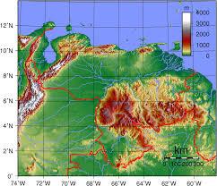 Latin America Physical Map Agriculture In Venezuela Wikipedia
