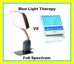 full spectrum lights for sad blue light therapy vs full spectrum for sad