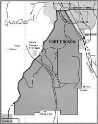 fort carson map checklist of birds fort carson
