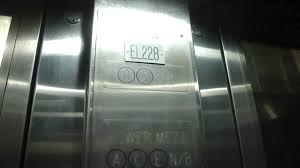 unknown brand hydraulic elevator to sb c e trains penn station