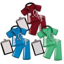 Nurse Christmas Ornament - occupation ornaments polarx ornaments