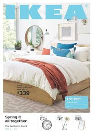 ikea the bedroom event flyer may 1 to 22
