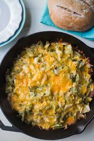 green bean cabbage and cheese just like macaroni and cheese but