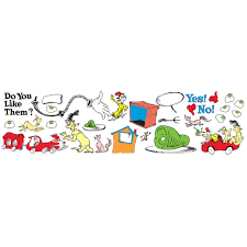 dr seuss green eggs and ham classroom bulletin board set eureka