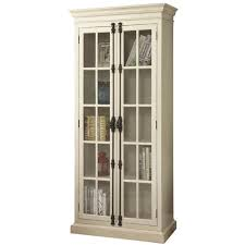 wood curio cabinet with glass doors amazing curios cabinets chests accent furniture weekends only white