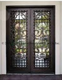 wrought iron entry doors custom iron doors security doors