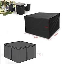 vinteky garden patio furniture set heavy duty round square seater