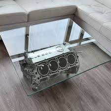coffee table incredible v8 coffee table designs motorcycle engine