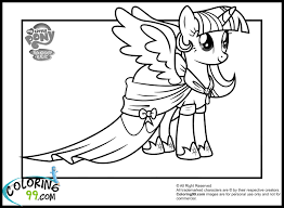 princess twilight sparkle coloring page free printable throughout
