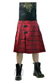 lip service gothic steampunk irish scottish plaid kilt skirt 28