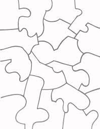printable paper puzzles jigsaw template daway dabrowa co