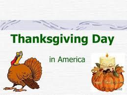 презентация на тему thanksgiving day celebration in united states