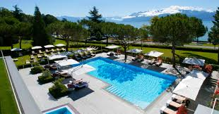beau rivage palace luxury hotel in lake geneva switzerland