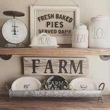 Modern Farmhouse Style Decorating Best 25 Farm Style Kitchen Shelves Ideas On Pinterest Farm