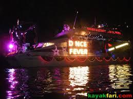 Kayak Night Lights Kayaking A Parade Of Lights Seminole Winterfest Boat Parade