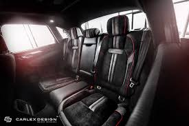 porsche macan 2016 interior porsche macan gets a berserk red and black interior makeover from