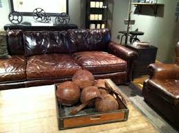 Big Leather Sofa Chagne Taste On A Budget You Can Fool The Fans But Not