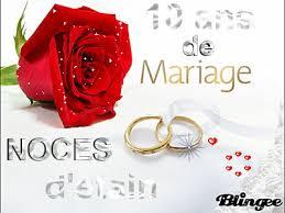 11 ans de mariage anniversiares de mariage