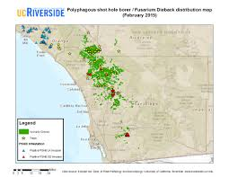 San Diego County Map Pshb Update February 25 California Avocado Commission