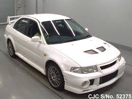 used mitsubishi lancer for sale 1999 mitsubishi lancer white for sale stock no 52375 japanese
