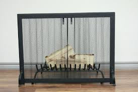 fireplace screens lowes screen curtain with doors 1458 interior
