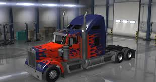 kenworth mud flaps australia kenworth w900 with optimus prime paint job trailer trucks