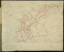 World War One Map by Mapping For War And Peace About Ordnance Survey