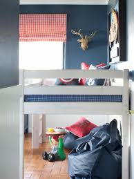 Blue And Red Boys Bedroom Little Boy U0027s Bedroom Red Blue And Action Packed Hgtv