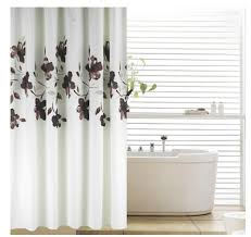 white and brown shower curtain shower ideas