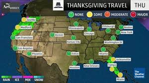 Georgia travel forecast images Thanksgiving travel forecast the weather channel jpg