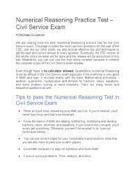 numerical reasoning practice test fraction mathematics